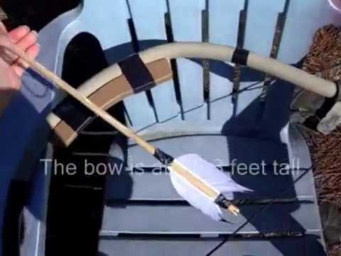 The Huntsman PVC Bow & Arrow from Team Fortress 2 (costume prop)