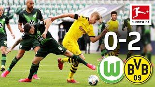 Vfl Wolfsburg Vs. Borussia Dortmund I 0-2 I Hakimi & Guerreiro Goals In Next Bvb Win