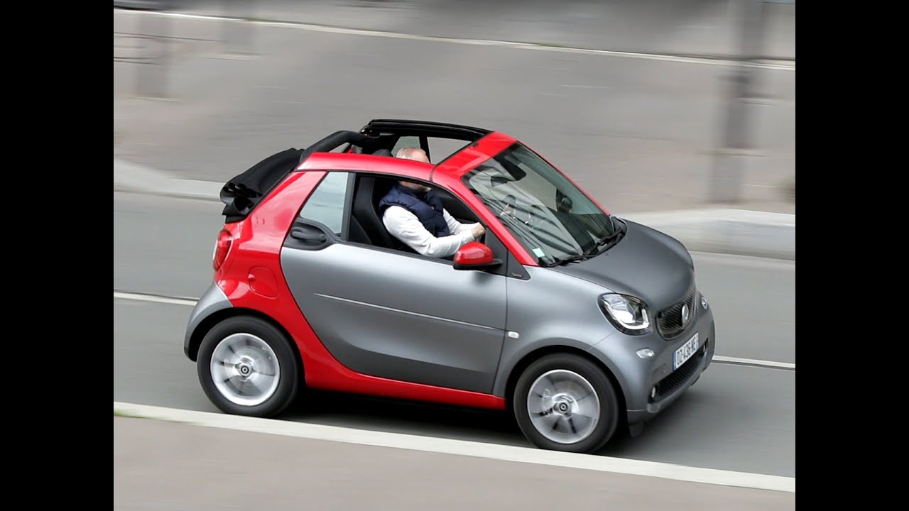 essai smart fortwo cabriolet 1 0 71 bva passion 2016 youtube. Black Bedroom Furniture Sets. Home Design Ideas
