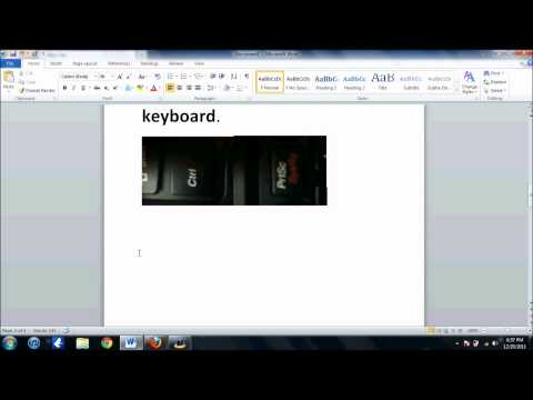 How To Take A Screen Shot On Windows 7 And Windows Vista {EASY WAY}