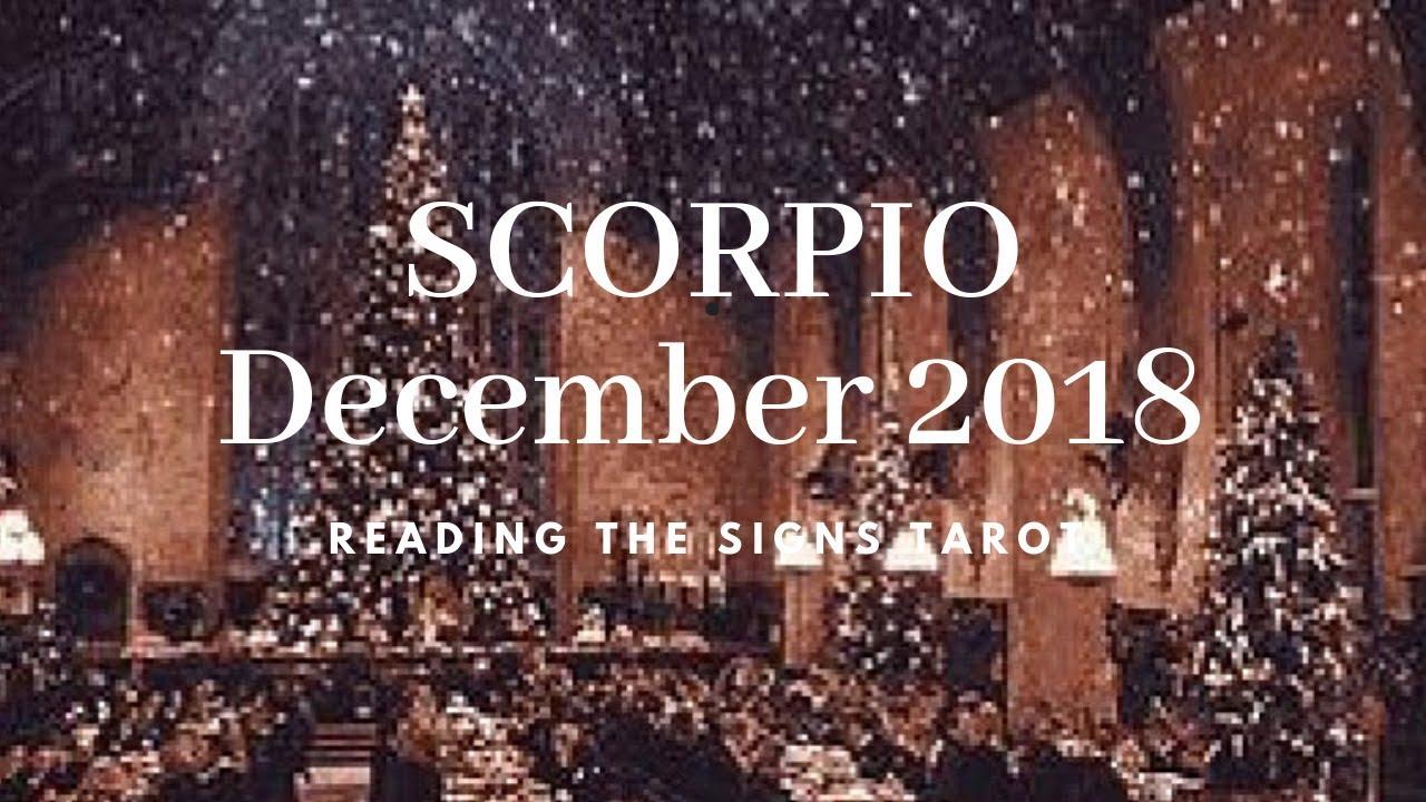 scorpio december 2019 tarot reading horoscope