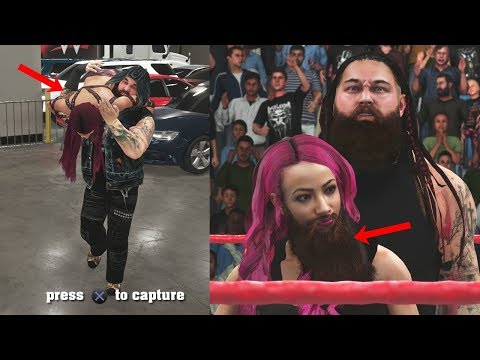What Happens if Sasha Banks is Forced to Join Wyatt Family in WWE 2K18 Universe?