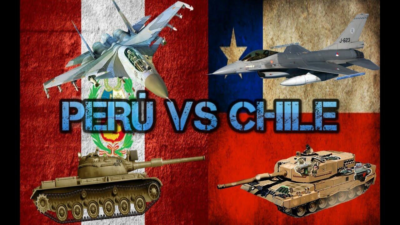 Comparacion Militar Entre Chile Y Peru Youtube