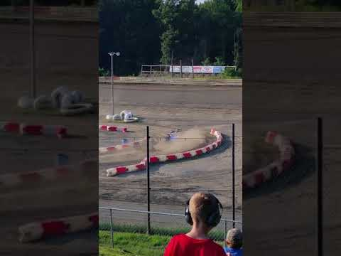 Hilltop Speedway Mini Wedges Feature Race 2