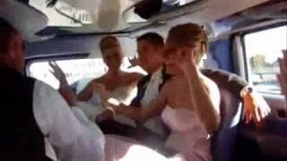 Веселая невеста, мальчишник и корпоратив в лимузине!
