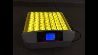Автоматичне розведення машина 56 яєць інкубатор з яйцем світло тестер