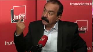 Philippe Martinez répond aux auditeurs d'Interactiv'