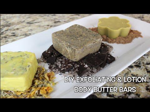 DIY Exfoliating & Lotion Body Butter Bars   Bath & Body Series   MariaAntoinetteTV