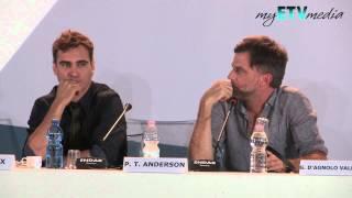 Paul Thomas Anderson On The Master (69th Venice International Film Festival)