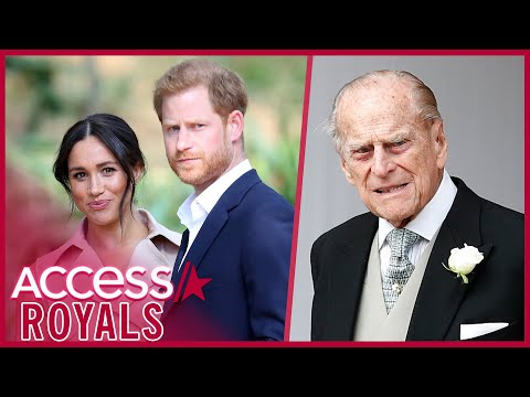 Meghan Markle & Prince Harry's Interview Hinged On Prince Philip's Health