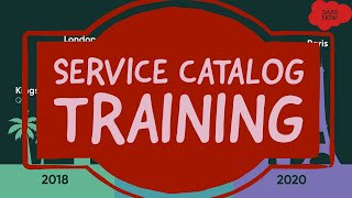 #1 ServiceNow Service Catalog Training | Overview