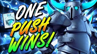 NO ONE EXPECTS THIS DECK!! INSANE NEW PEKKA + FREEZE DESTROYS!!