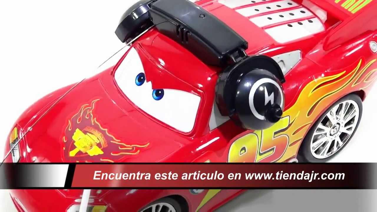 Carro Control Remoto Cars Rayo Mc Queen Repite Lo Que Dices Juguete