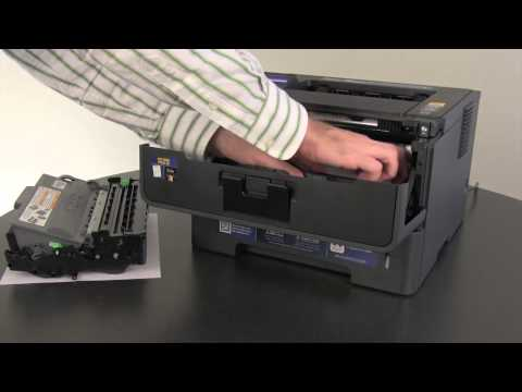 Clear the flashing Paper and Error LEDs | Brother HL5440D, and HL5450DN