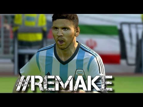 World Cup 2014 ►Lionel Messi Bosnia and Iran ● PES 2014