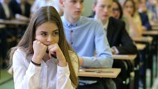 Olsztyn. Gimnazjum nr 12 - przed egzaminem