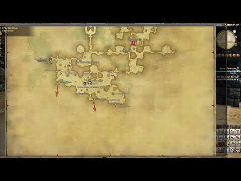 Ffxiv World Map Teleport Qol Change In 4 0 Youtube