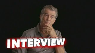 The Foreigner: Pierce Brosnan Exclusive Interview | ScreenSlam