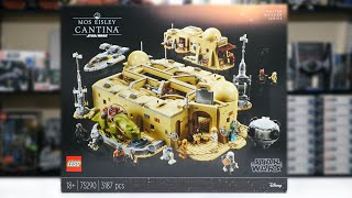 LEGO Star Wars 75290 MOS EISLEY CANTINA Review! (2020)