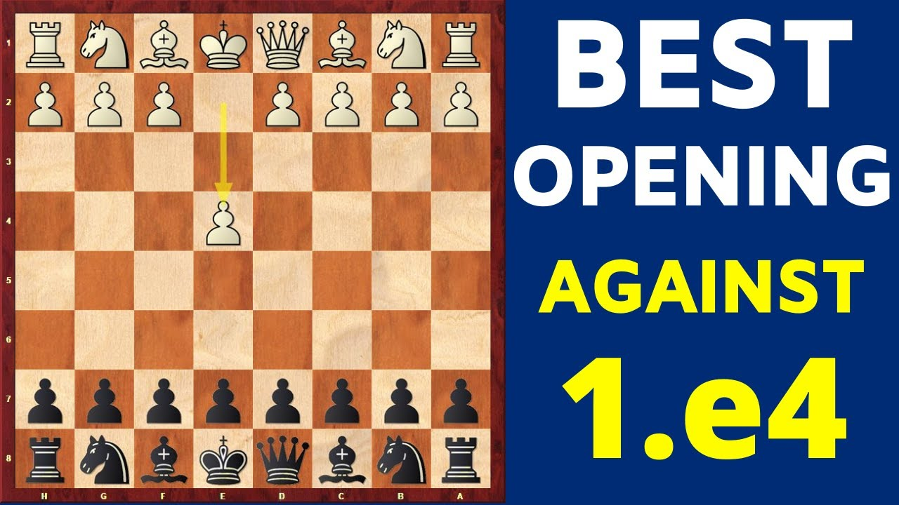 Download The BEST Chess Opening for Black Against 1.e4