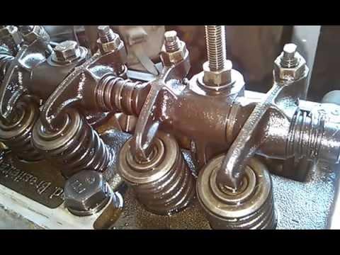 como regular as válvulas de um motor CHT 1 parte