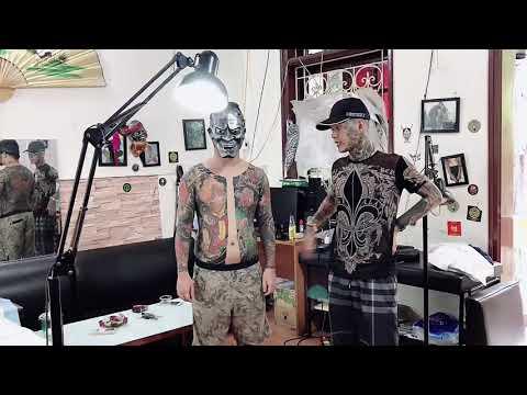 Hoàn thiện công trình thế kỉ có 102 tại Chị Lụ Tattoo