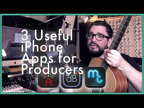 3 Useful iPhone Apps For Producers and Audio Engineers