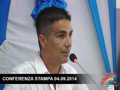 Project de construction d'un hopital social - Conference de presse 04.09.2014