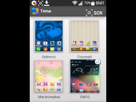 temas para celular lg optimus l3