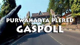 JALUR RAWAN PURWAKARTA PLERED | motovlog indonesia | BENGKEL RESMI YAMAHA ARENA PLERED