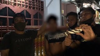 Tukang Begal Ketangkep Polisi Langsung Nangis Sesenggukan - 86