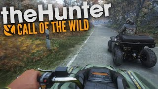 The Hunter Call Of The Wild | UPDATED MULTIPLAYER AND ATV CRASHES!!