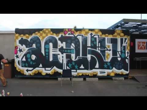 AC Oulu Graffiti - Raatin stadion (Oulu)