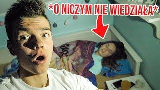 Spędziłem Noc w Pokoju Mojej Siostry & O NICZYM NIE WIEDZIAŁA...