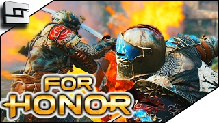 FOR HONOR! Peacekeeper and Orochi! (For Honor Beta Gameplay)