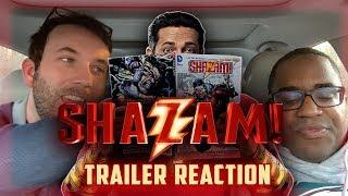 Shazam Sneak Peek Trailer Reaction!