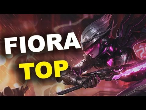Project Fiora Top Lane Season 5 Full Game Commentary - League of Legends