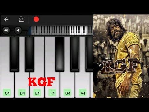 KGF Mother Theme   Emotional BGM   Easy Piano Tutorial   Perfect Piano   Yash