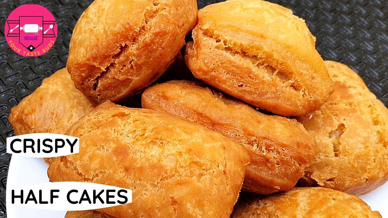 Flaky And Crispy Half Cakes Mandazi Youtube