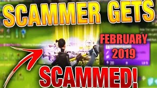 THE BEST scammer gets scammed fortnite save the world- watch endo scammed a scammer