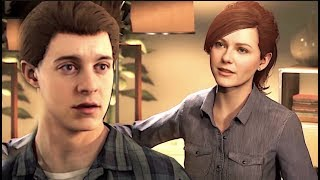 Tobey Maguire Gets Awkward With Kirsten Dunst(Mary Jane) In Spider Man Ps4 DeepFake