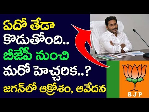 AP CM YS Jagan Angry Over BJP, Andhra Pradesh, PM Modi, KCR
