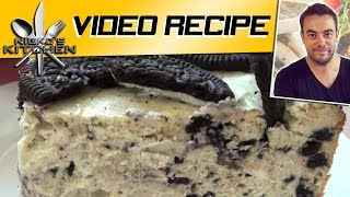 Oreo Cheesecake - Video Recipe