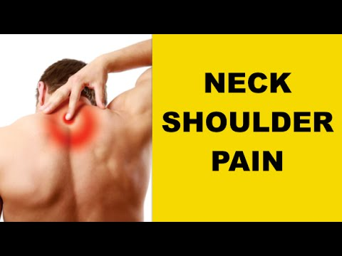 neck and shoulder pain relief upper back pain gone