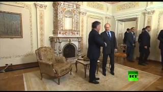 مشاهد من لقاء الرئيس الروسي فلاديمير بوتين والعاهل الأردني الملك عبد الله الثاني
