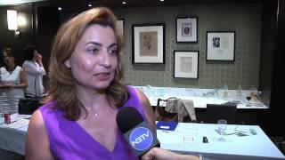 Yanna Darilis features Ilias Lalaounis Museum Director, Ioanna Lalaounis