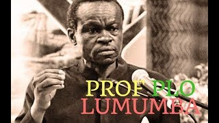 Professor PLO Lumumba Takes The Fight Against Corruption To Africa