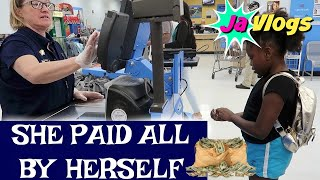 SHE PAID ALL BY HERSELF   Family Vlogs   JaVlogs