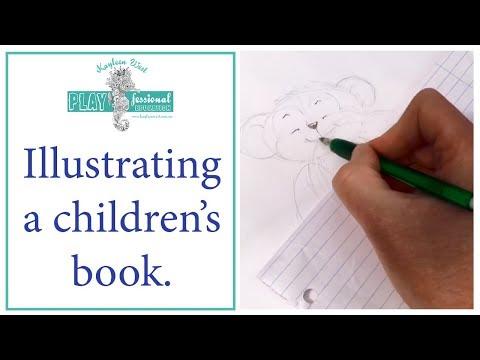 Illustrating a children's book. Value-based education books. streaming vf
