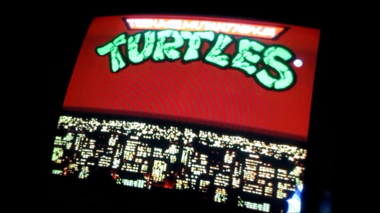 Teenage Mutant Ninja Turtles: Turtles In Time (Arcade) - Gameplay ...